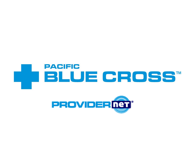 Pacific blue cross